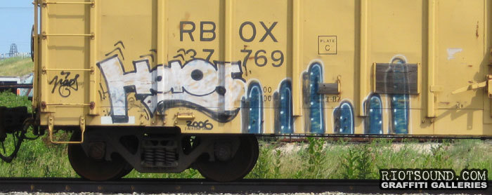 Art On Freight Car