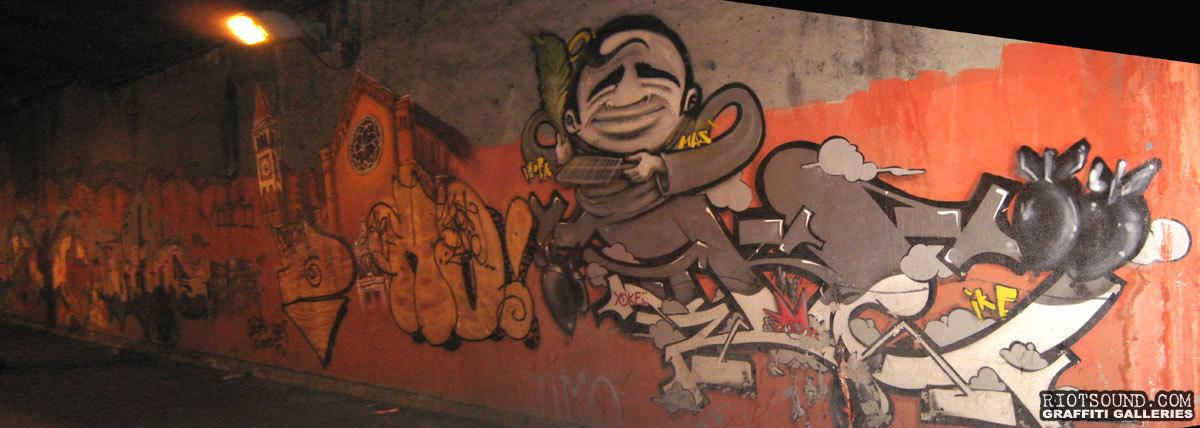 Artwork On Rome Street