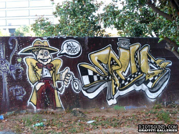 Atlanta Georgia Graffiti