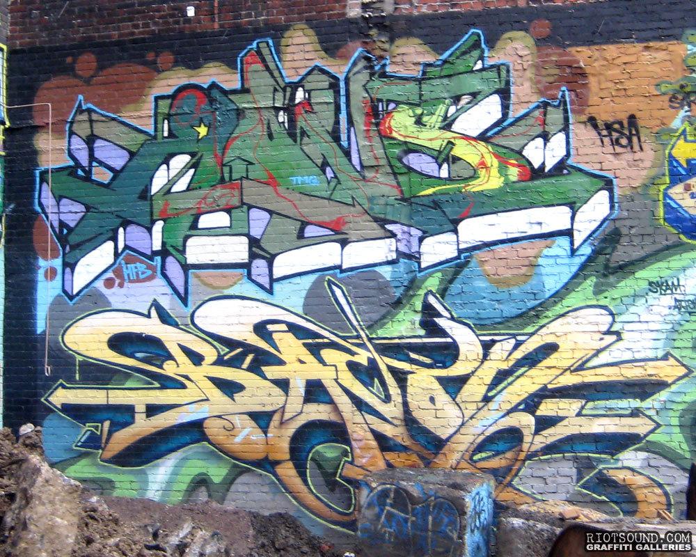 BACON Graffiti Art