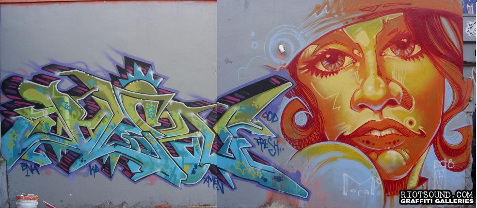 BLEN 167 Mural