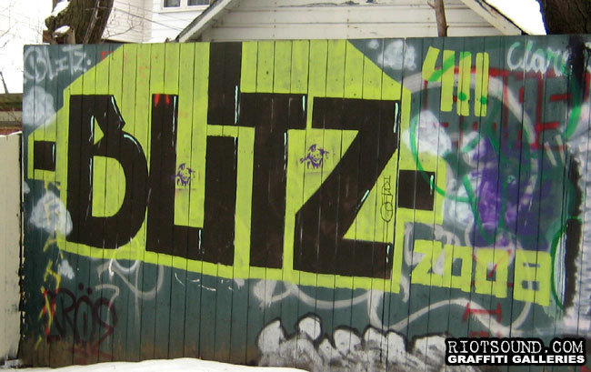 BLITZ Graffiti Ottawa