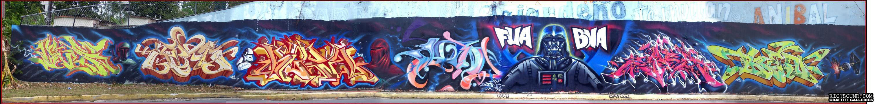 BNA FUA Graffiti Production