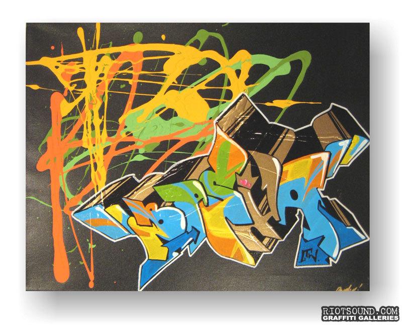 Basha Aerosol Art