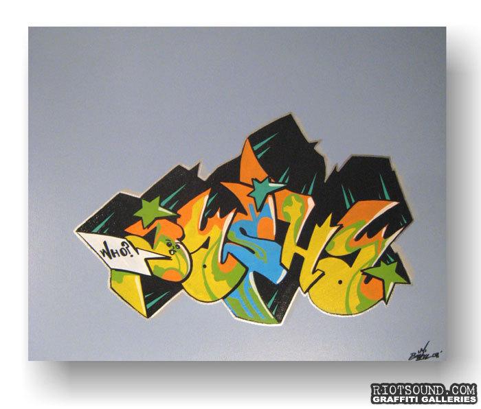 Basha One Artwork