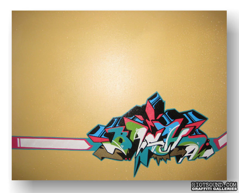 Basha One Graffiti