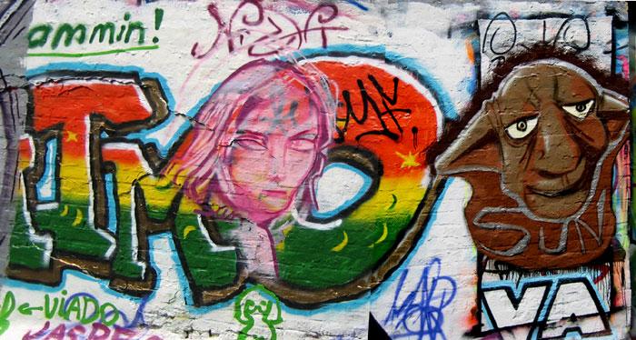 Belgian Spray Paint Art