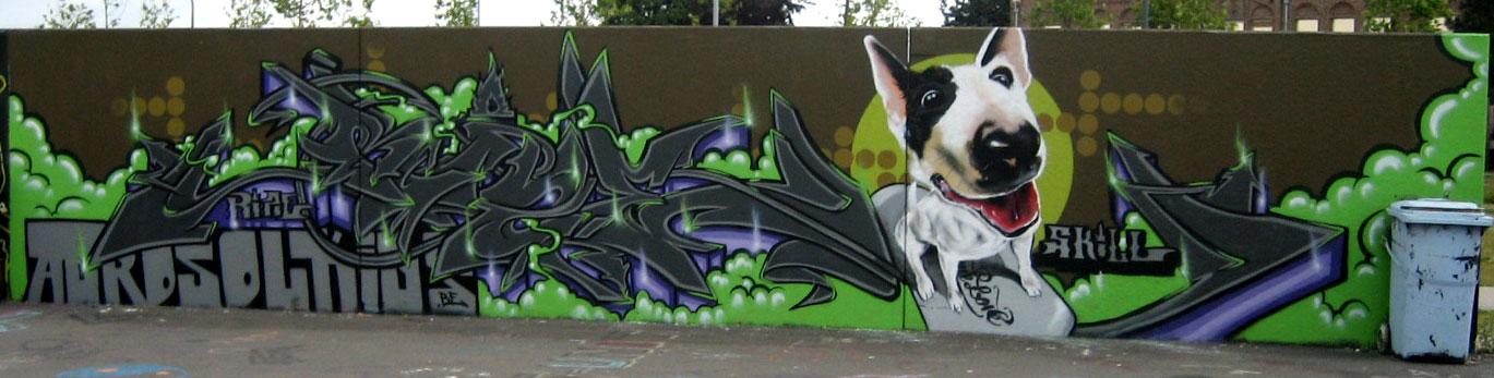 Belgie Wildstyle Graffiti