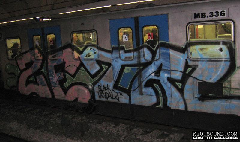 Black Vandalz Graffiti