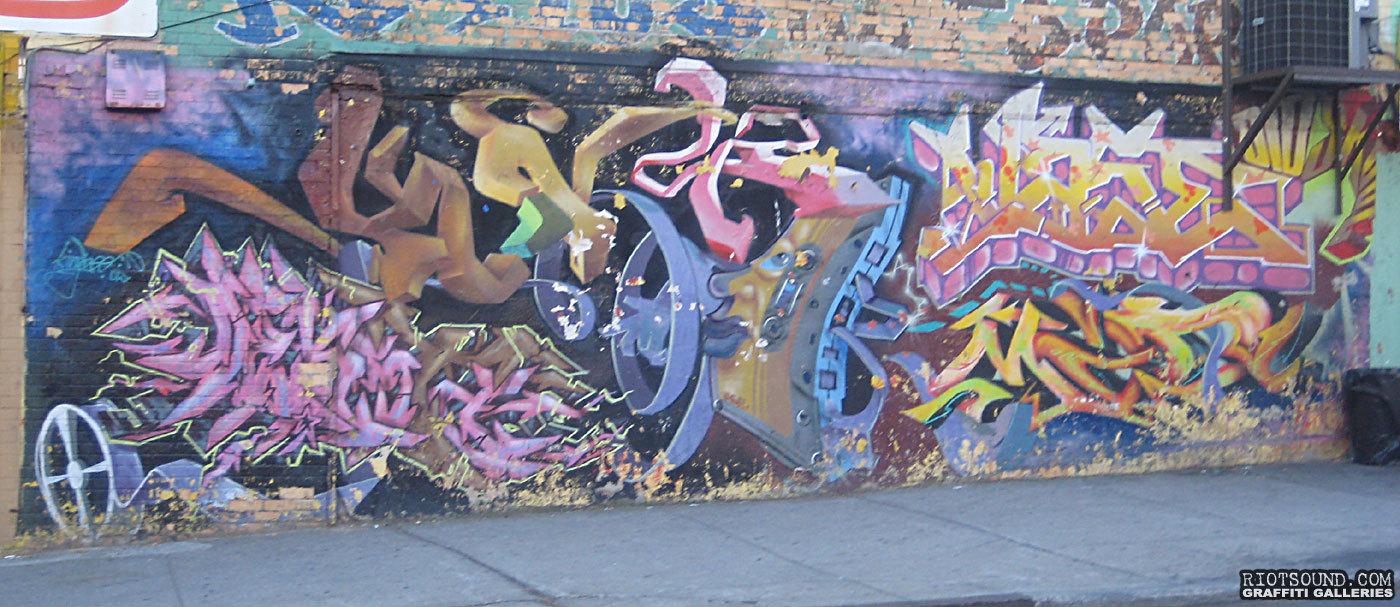 Bronx Street Art Graffiti
