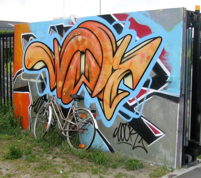Bruges Belgium Graffiti