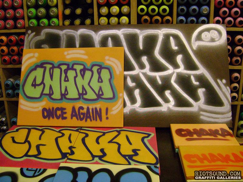 CHAKA Graffiti Exhibition