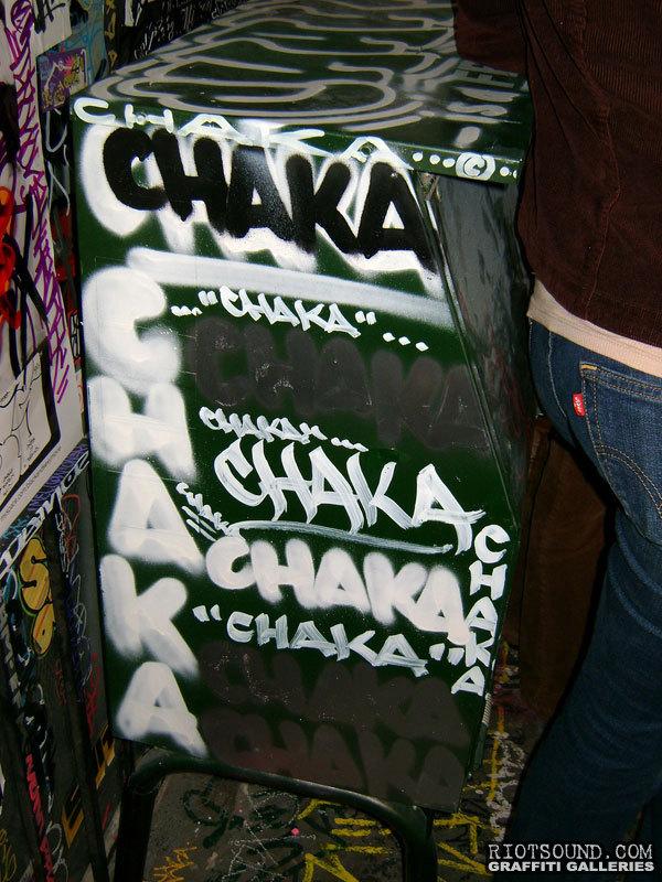 CHAKA Los Angeles Graffiti