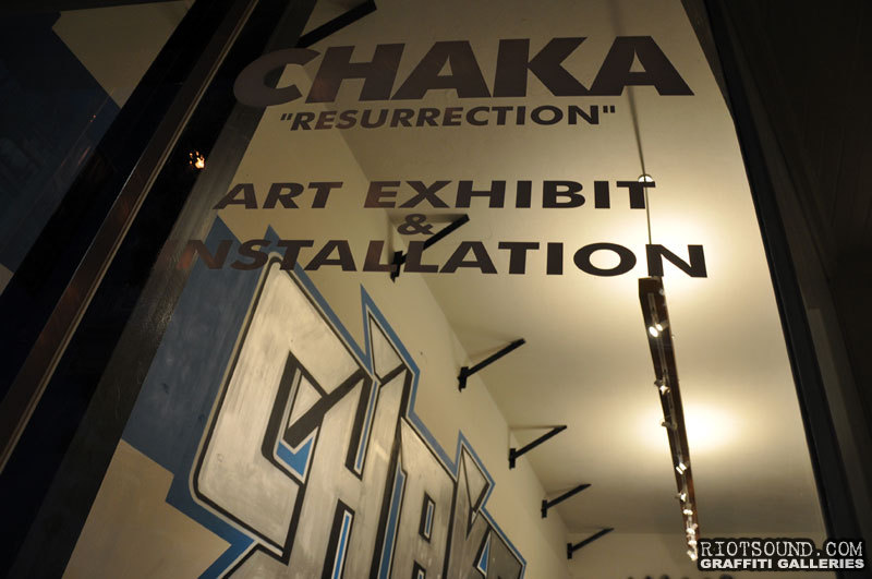 CHAKA Resurrection Art Exhibit