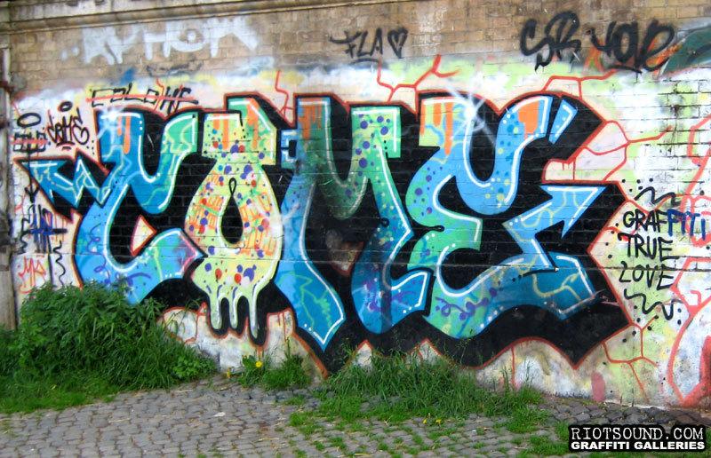 COME Graffiti Arte