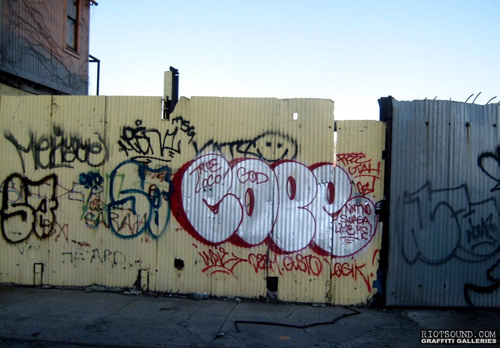 COPE Graffiti Bronx