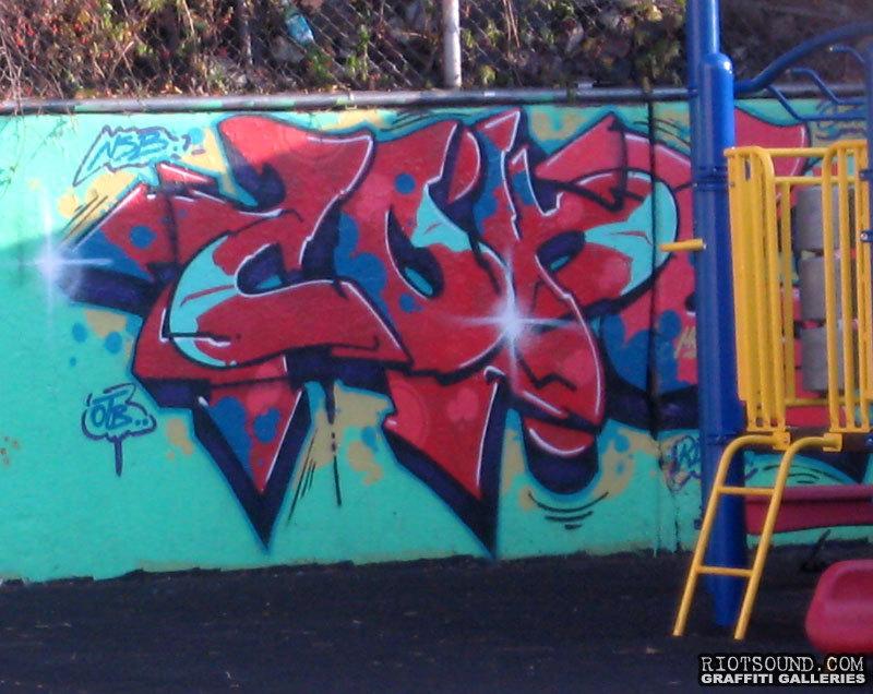 Cope 2 Playground Art