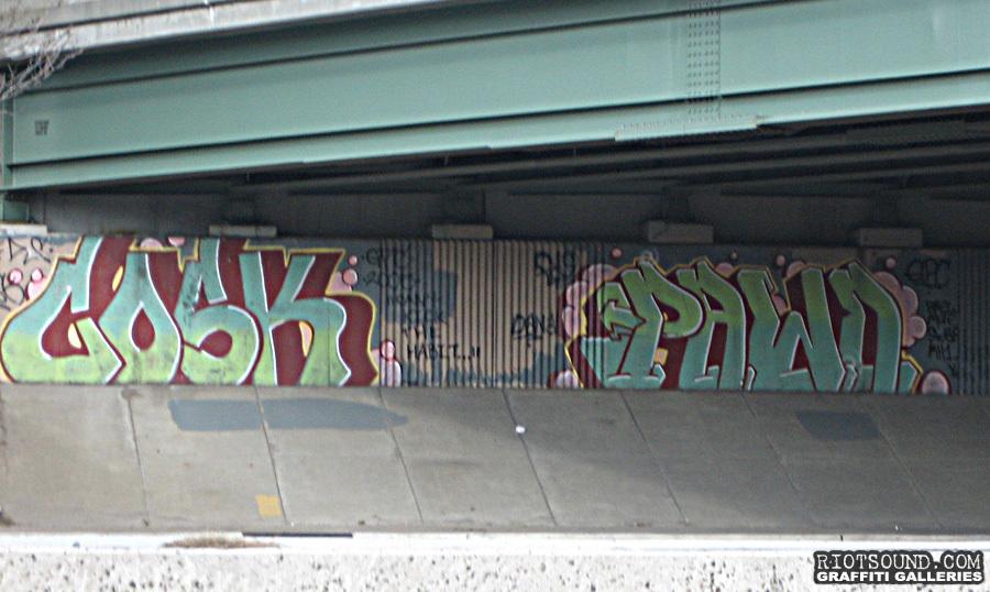 Cosk Pawn Graffiti