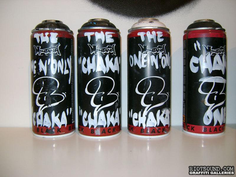 Custom Spray Paint Cans