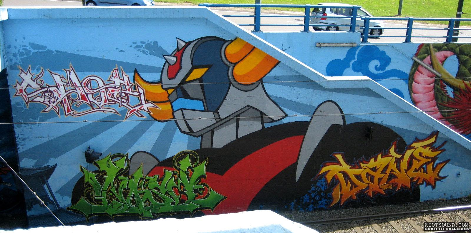 DANE Belgium Graffiti