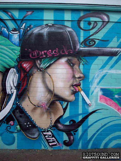 DREAD Colorado Street Art