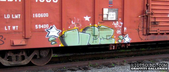 Freight Graff Hit