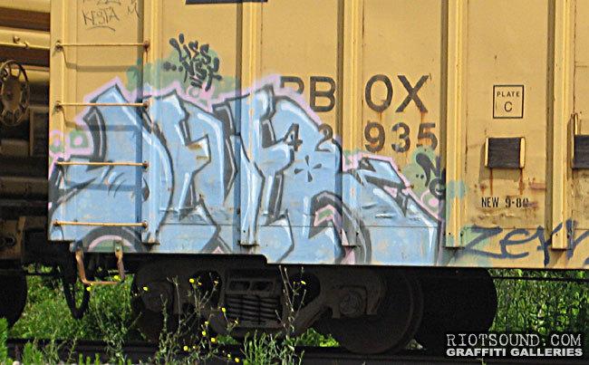 Freight Train Graff