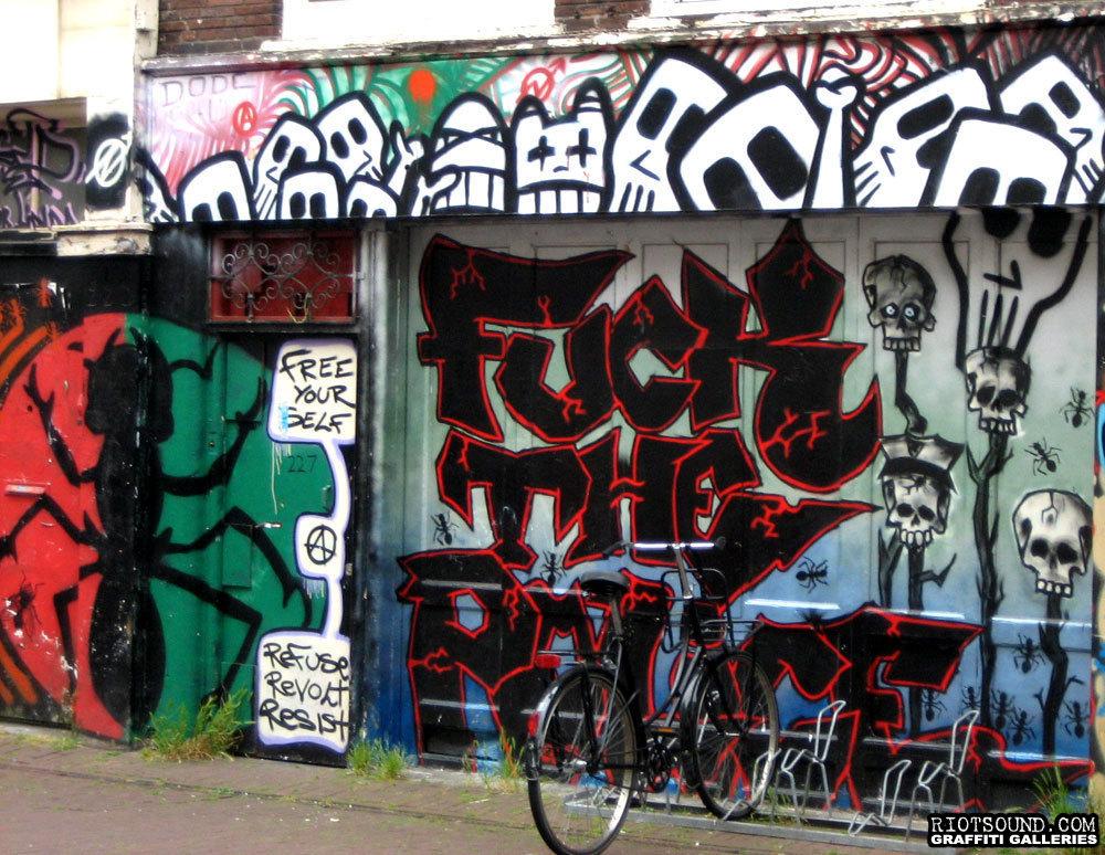 Fuck The Police Graffiti