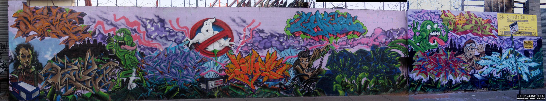Ghostbusters Graffiti Mural