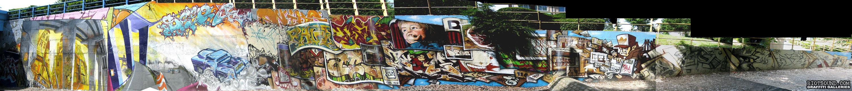 Giant Graffiti Wall