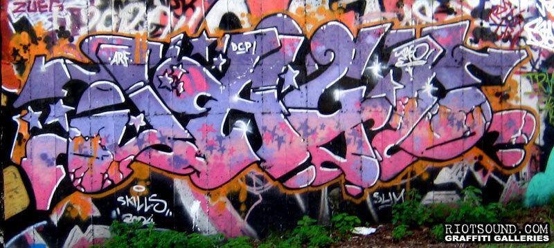 Graff Burner In Rome