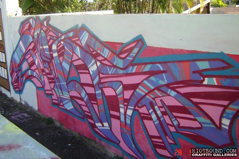 Graff On Wall
