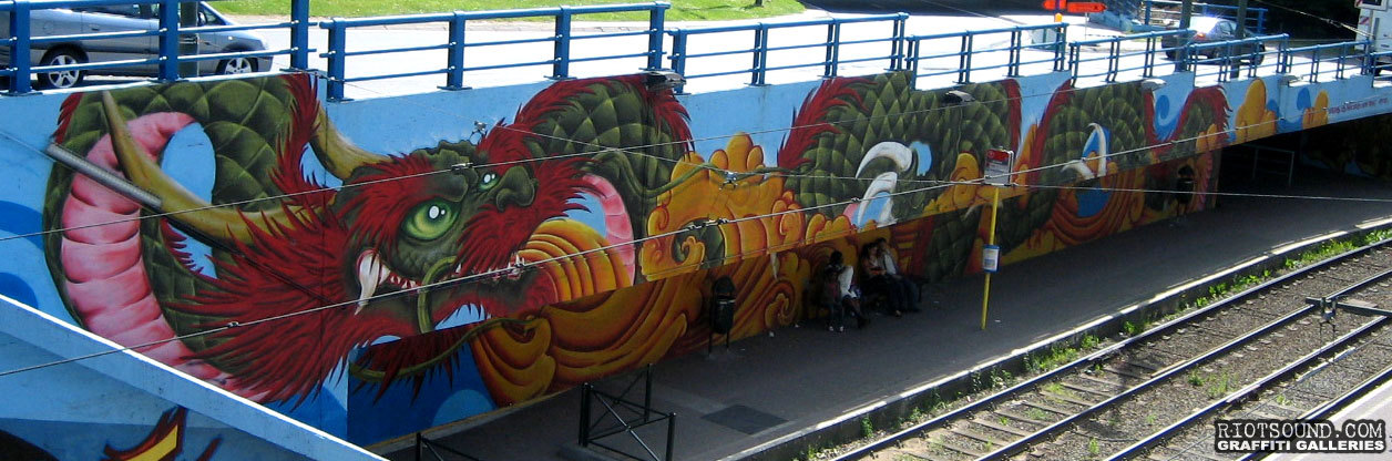 Graffiti Art Dragon