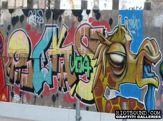 Graffiti Art In Amsterdam