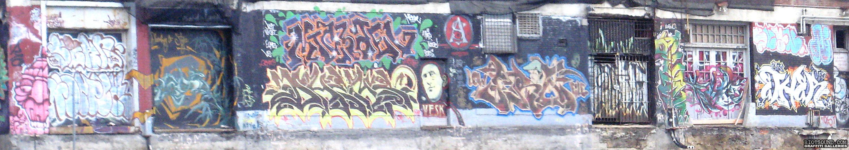 Graffiti Art Legal Wall