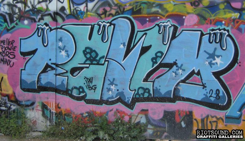 Graffiti Arte Piece