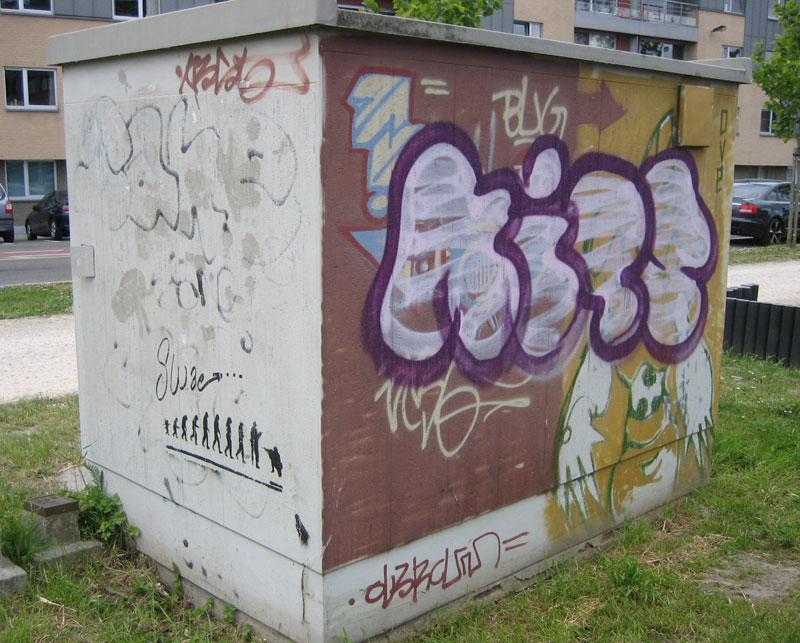 Graffiti Bomb In Ghent