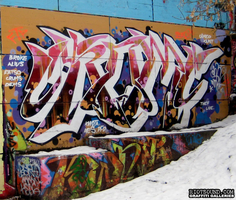 Graffiti Burner Ottawa Canada