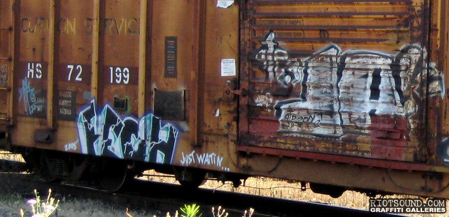 Graffiti Freight Train Hits