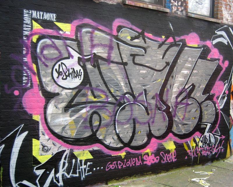 Graffiti In Ghent Belgium