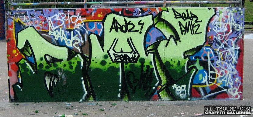 Graffiti In Rotterdam