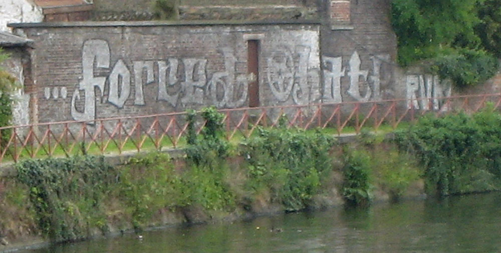 Graffiti On The Canal