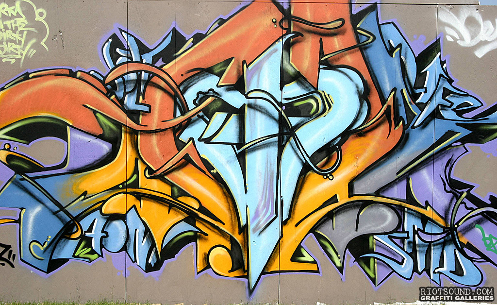 Graffiti Piece In Burmingham Alabama
