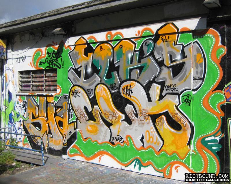 Graffiti Production In Rome