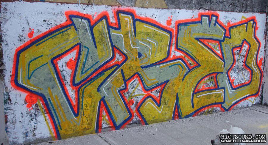 Graffiti Street Art In Argentina
