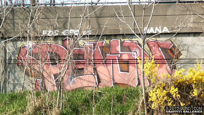 Highway Roadside Graffiti