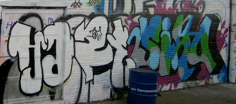 Industrial Park Graffiti