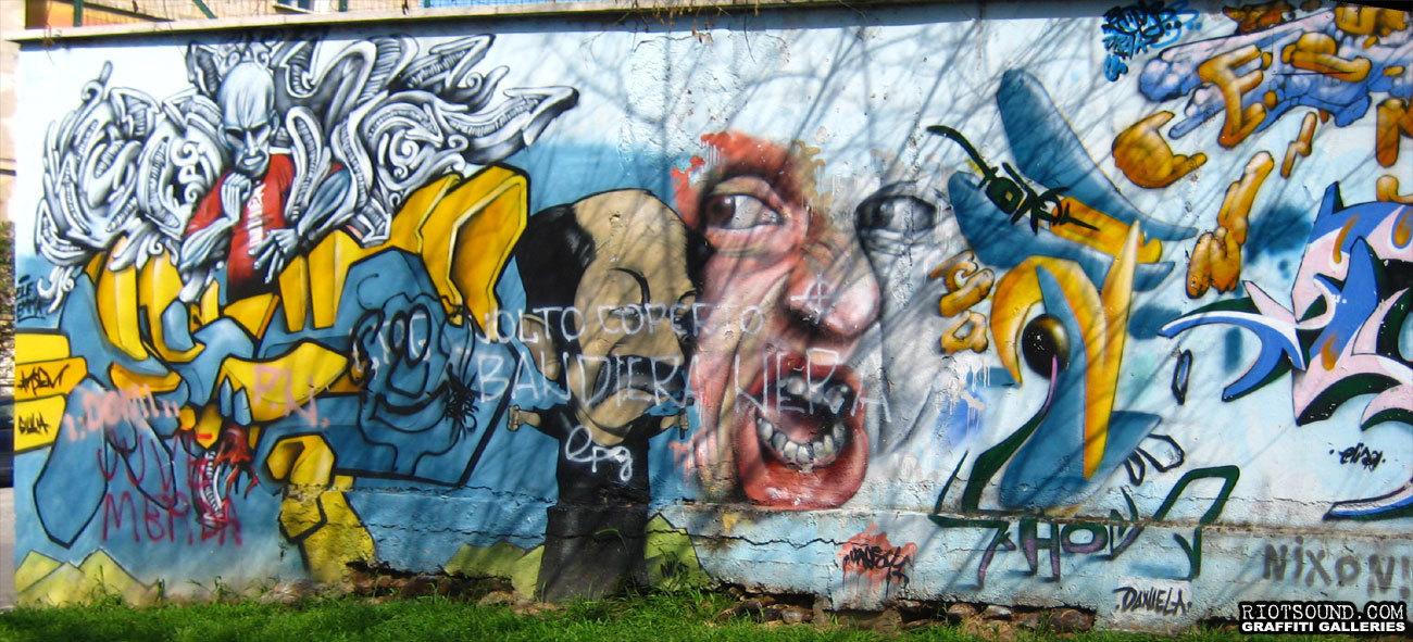 Italian Street Mural