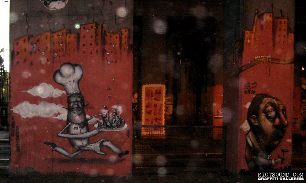 Italian Street Murals