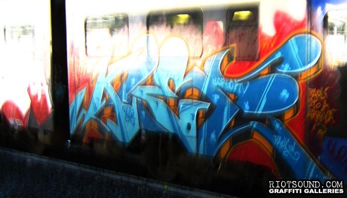 Italian Train Art